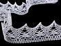 Bobbin lace No. 75186 white | 30 m - 2/4