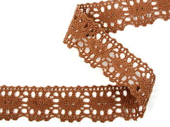 Bobbin lace No. 75187 brown | 30 m - 2