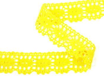 Bobbin lace No. 75187 yellow | 30 m - 2