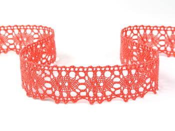 Bobbin lace No. 75187 coral | 30 m - 2