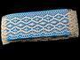 Cotton bobbin lace 75188, width 100 mm, ecru - 2/4