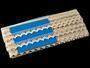 Cotton bobbin lace 75191, width 15 mm, ecru - 2/4