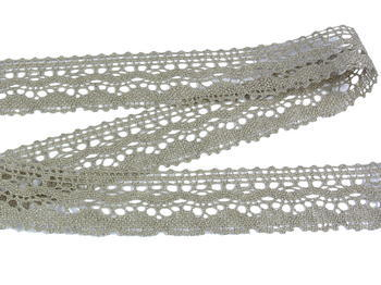 Bobbin lace No. 75202 natural linen | 30 m - 2