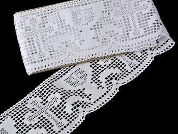 Bobbin lace No. 75204 white | 30 m - 2