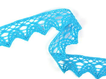Bobbin lace No. 75206 turquoise | 30 m - 2