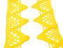 Paličkovaná krajka vzor 75221 žlutá | 30 m - 2/4
