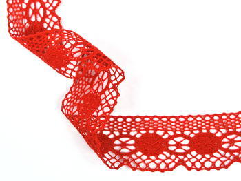 Bobbin lace No. 75223 red | 30 m - 2
