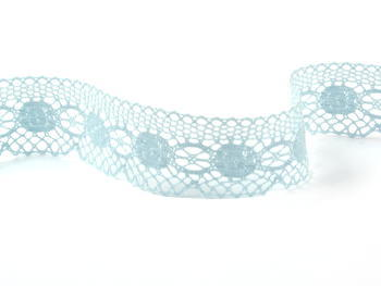 Bobbin lace No. 75223 pale blue | 30 m - 2