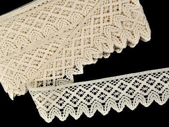 Bobbin lace No. 75234 ecru | 30 m - 2