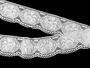 Bobbin lace No.75237 white | 30 m - 2/4