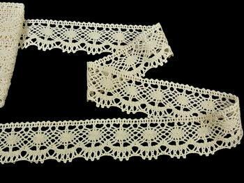 Bobbin lace No. 75238 ecru | 30 m - 2