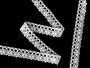 Paličkovaná krajka vzor 75239 bílá | 30 m - 2/3
