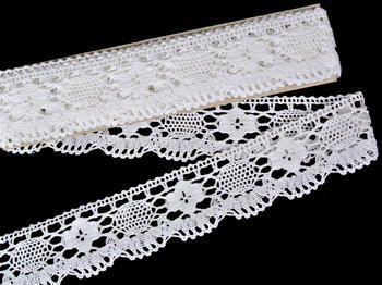 Bobbin lace No. 75253 white | 30 m - 2