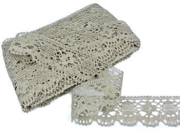 Bobbin lace No. 75253 natural linen | 30 m - 2
