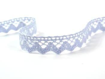 Paličkovaná krajka vzor 75259 světle modrá | 30 m - 2