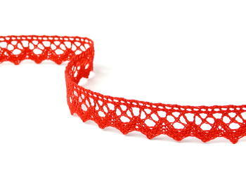 Bobbin lace No. 75259 red | 30 m - 2