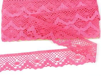 Bobbin lace No. 75261  fuchsia | 30 m - 2