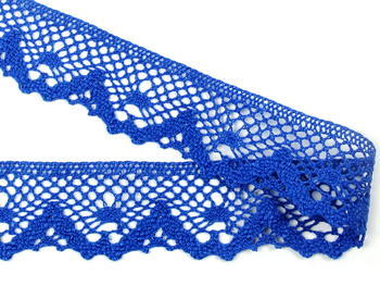 Bobbin lace No. 75261 royal blue | 30 m - 2