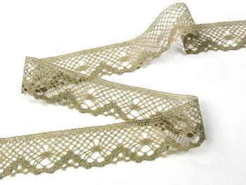 Bobbin lace No. 75261 natural linen | 30 m - 2