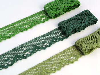 Bobbin lace No. 75261 grass green | 30 m - 2