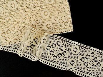 Bobbin lace No. 75277 ecru | 30 m - 2