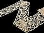 Cotton bobbin lace 75127, width120 mm, ecru - 2/3