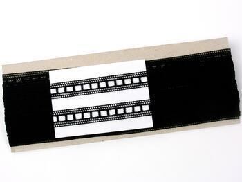 Paličkovaná vsadka 75281 bavlněná, šířka14 mm, černá - 2
