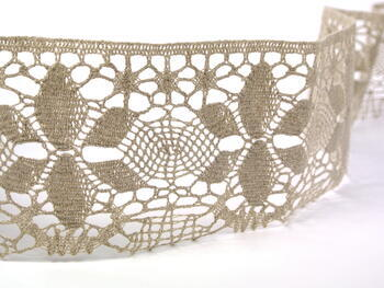 Bobbin lace No. 75290 natural linen | 30 m - 2