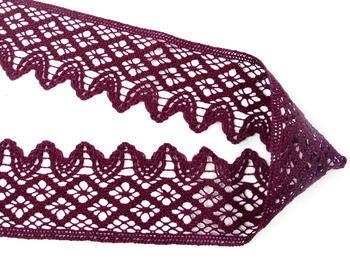 Bobbin lace No. 75293 violet | 30 m - 2