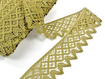 Bobbin lace No. 75293 green | 30 m - 2