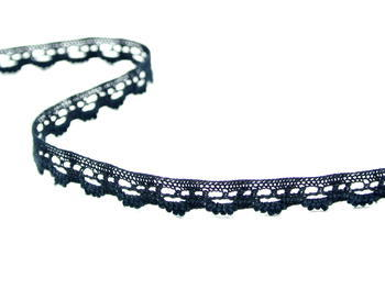 Bobbin lace No. 75355 black | 30 m - 2