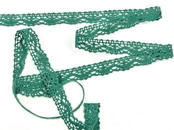 Bobbin lace No. 75395 dark green | 30 m - 2