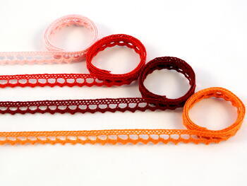 Bobbin lace No. 75397 rich orange | 30 m - 2