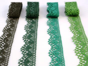 Bobbin lace No. 75416 light green | 30 m - 2