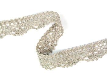 Bobbin lace No. 75423 light linen | 30 m - 2