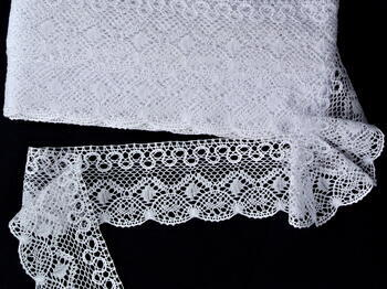 Bobbin lace No. 75541 white | 30 m - 2