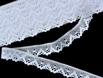 Bobbin lace No. 75548 white | 30 m - 2