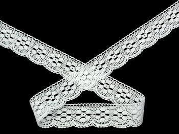 Bobbin lace No. 75623 white | 30 m - 2
