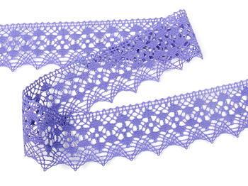 Paličkovaná krajka vzor 75625 purpurová II. | 30 m - 2
