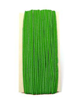 Paličkovaná pruženka roušková 75643 zelená   10 m - 2