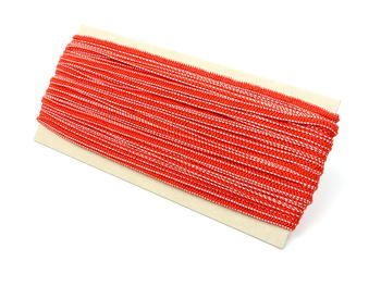 Fine rubber band  75643 red | 30 m - 2