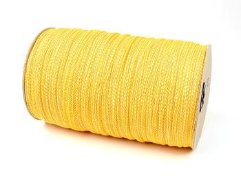Paličkovaná pruženka roušková 75643 žlutá | 300 m - 2