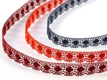 Bobbin lace No. 81014 red | 30 m - 2