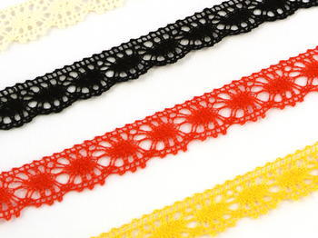 Bobbin lace No. 81050 black | 30 m - 2