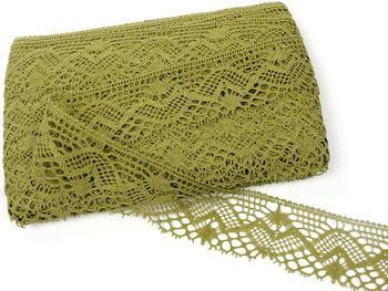Bobbin lace No. 81294 khaki | 30 m - 2