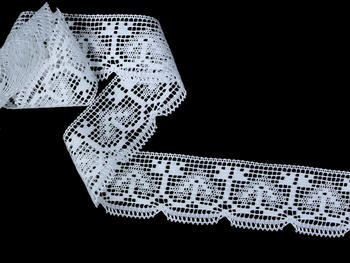 Bobbin lace No. 81317 white | 30 m - 2