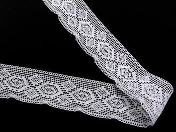 Bobbin lace No. 82132 white | 30 m - 2