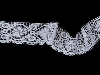 Bobbin lace No. 82147 white | 30 m - 2