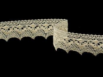 Bobbin lace No. 82158 ecru | 30 m - 2