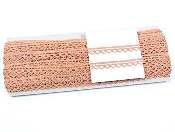 Bobbin lace No. 82195 salmon pink | 30 m - 2